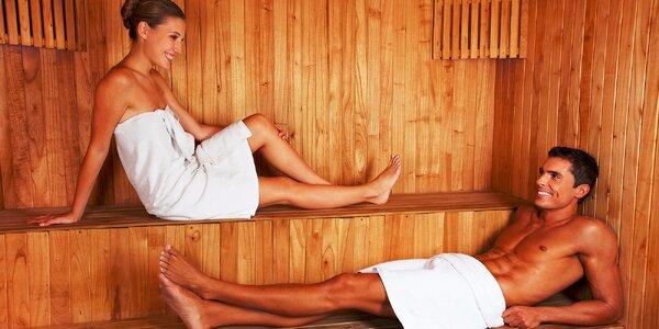 Privátny vstup do sauny pre dvoch na 60 minút