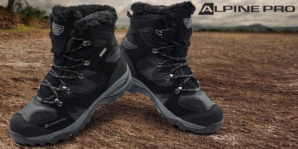 Pánska zimná obuv Alpine Pro do snehu i mrazu