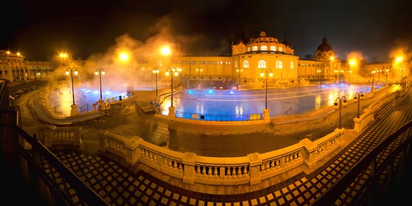 Pobyt v Park Inn**** Budapešť so vstupom do Széchenyi kúpeľov