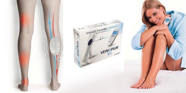 Zdravotný elektro-stimulačný prístroj na prevenciu a liečbu žilových ochorení