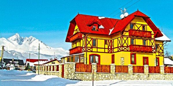 Pobyt v penzióne BAĎO*** vo Vysokých Tatrách