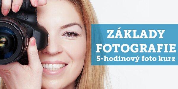 Celodenné fotografické kurzy pre začiatočníkov