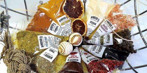 Balíčky korenín na varenie i pečenie