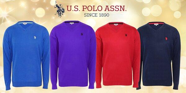 Pánske bavlnené svetre U.S. POLO ASSN