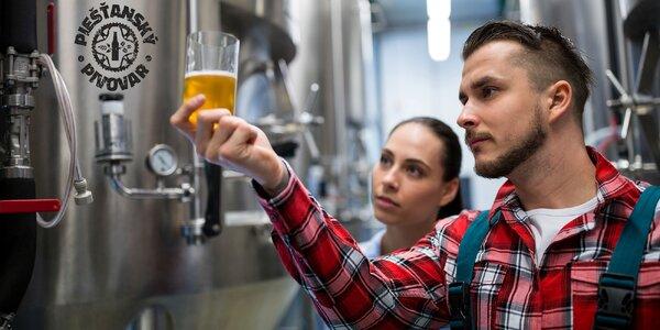 Prehliadka pivovaru s degustáciou