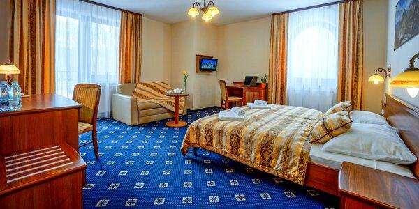 Bohatý wellness pobyt v poľských Tatrách pre dvoch