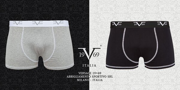 Balenie 2 pohodlných boxeriek Versace 19.69
