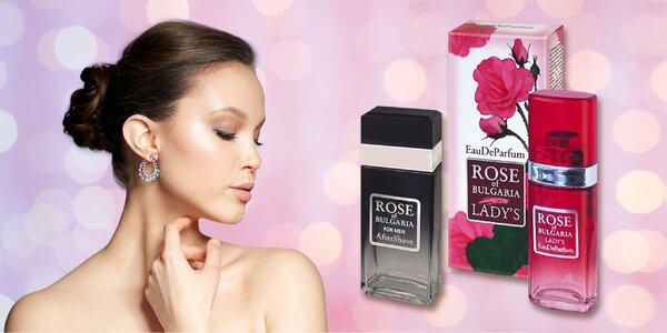 Dámsky alebo pánsky parfém z ružovej vody Biofresh