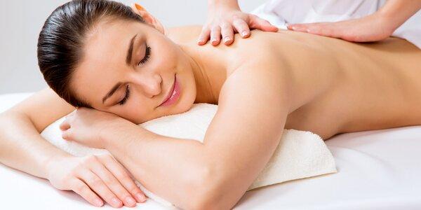 Masáž tváre a dekoltu či aromaterapeutická