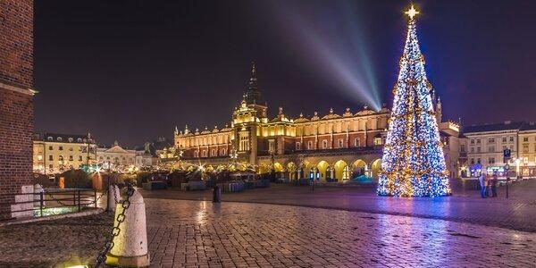 Zimná dovolenka v životom pulzujúcom Krakove