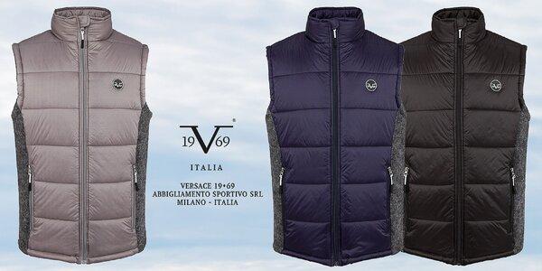 Pánske prešívané vesty Versace 19.69