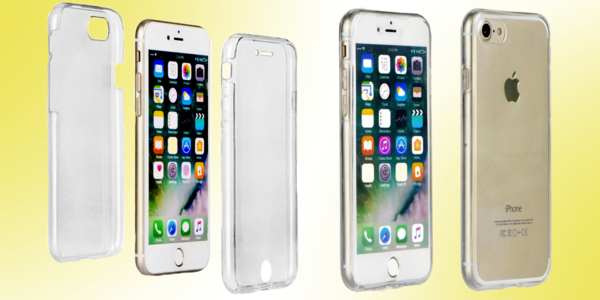 Kompletná obojstranná silikónová ochrana telefónu