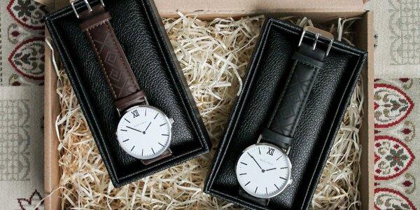 Slovenské hodinky André Charles - limitovaná edícia Čičmany