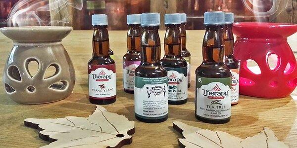 Prírodné vonné oleje do aromalámp a lekárničiek