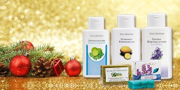 Levanduľový, citrónovo-olivový či ginko-limetkový set