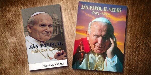Strávte sviatky s hagiografiou Jána Pavla II.