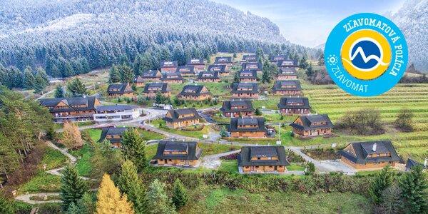 Wellness a SKI pobyt v Drevenice Terchová resort