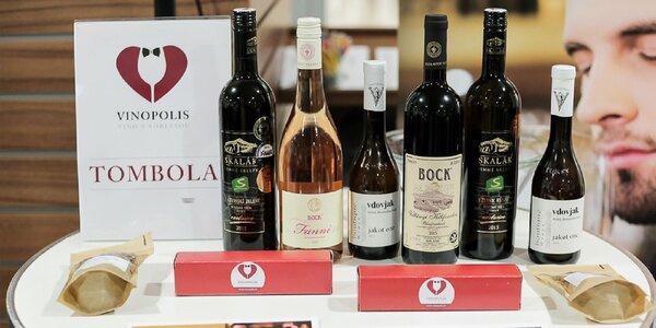 Ochutnávka 20 druhov vín aj s exkluzívnym darčekom