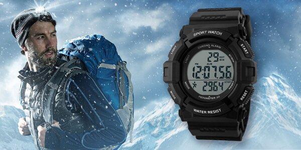 Pánske športové hodinky Gtup s krokomerom