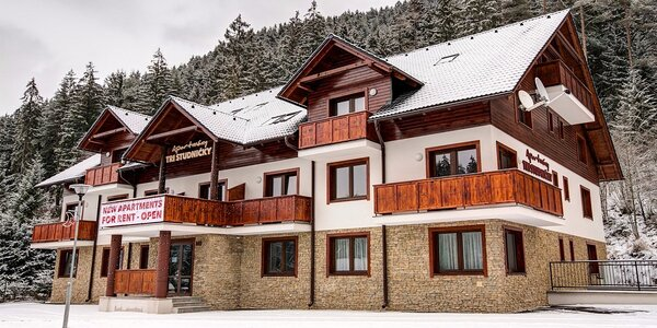 Zimná sezóna v apartmánoch v TOP stredisku JASNÁ