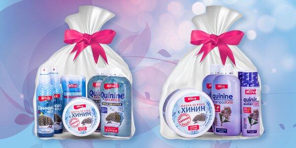 Darčekový balíček vlasovej kozmetiky Milva