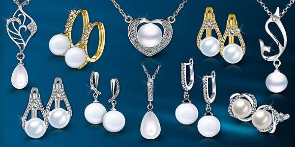 Elegantné perlové šperky - nová kolekcia