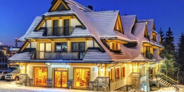 Úžasný pobyt pre dvoch v Hoteli Gold v Zakopanom