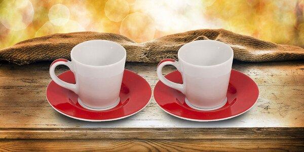 Hrnčeky na čaj alebo espresso talianskej značky Bialetti