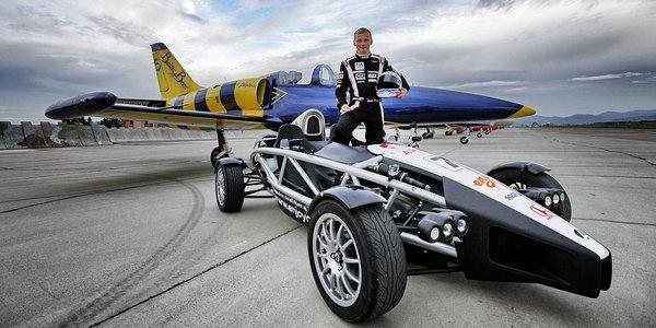 Ariel Atom. Jazda na jednom z najrýchlejších áut sveta!