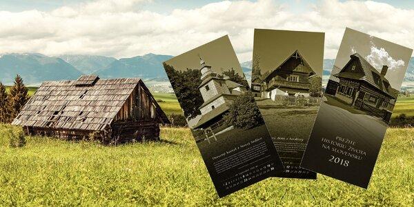 Kalendár-Prežite históriu života na Slovensku