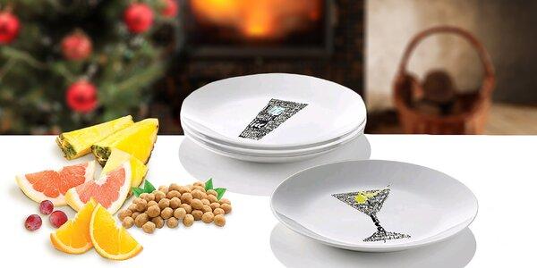 Darčekový set dezertných tanierov talianskej značky Gran Chef
