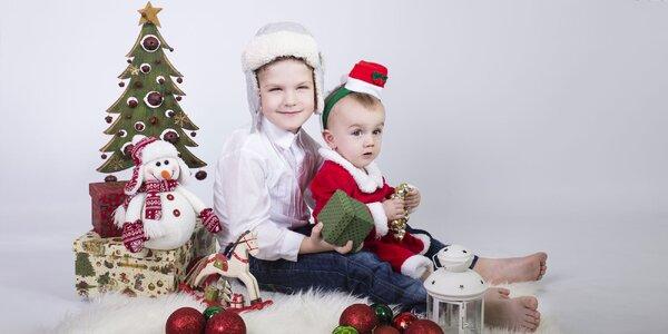 Vianočné fotenie detí či celej rodiny!