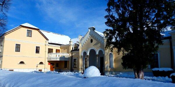 Zimný romantický wellness pobyt v kaštieli