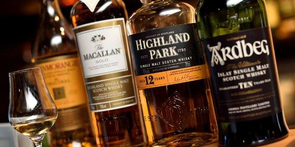 Ochutnávka whisky v Good Times pube