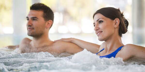 Wellness dovolenka pre 2 osoby v Krušných horách pri Karlových Varoch