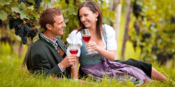 Skvelý pobyt vo vinárskej oblasti južného Slovenska