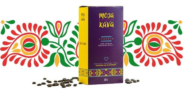 Prémiová Arabika z edície Moja slovenská káva
