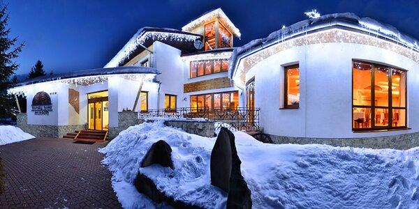 Zima v Horskom hoteli Mních*** neďaleko Tatralandie a Jasnej