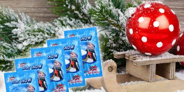 Dekoračný instantný umelý sneh