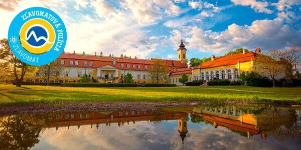 Romantický pobyt na juhu Slovenska v Kaštieli Château Béla