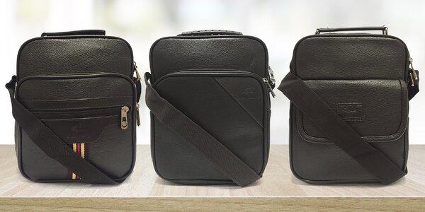 Elegantné pánske tašky pre mesto a na výlet