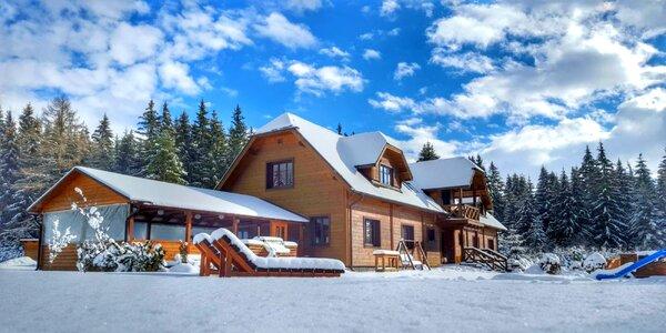 Zima v Penzióne Sileo*** v horskom prostredí Západných Tatier