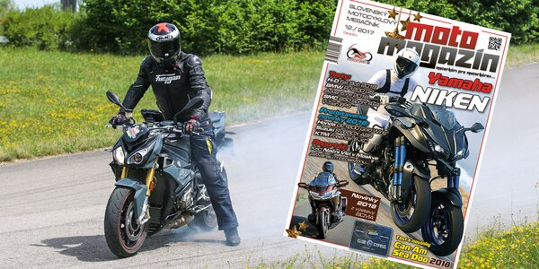 Ročné predplatné motorkárskeho mesačníka Motomagazín