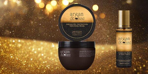 Arganová starostlivosť o vlasy a pleť Argan de Luxe