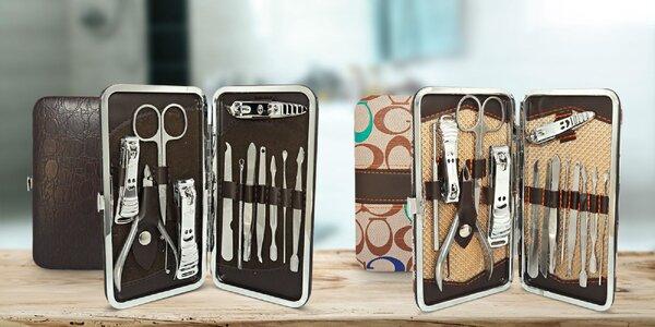 Plne vybavené manikúry v praktických puzdrách