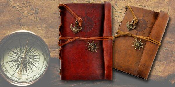 Krásne cestovateľské zápisníky - na výber z 2 dizajnov