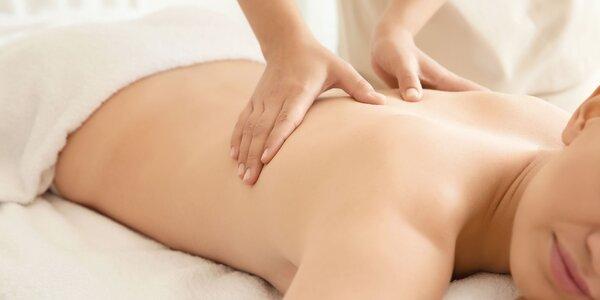 Reflexná masáž chodidiel a aroma masáž celého tela