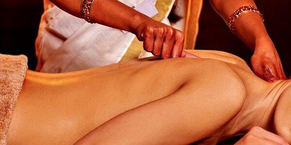 Terapeutická ayurvédska masáž chrbtice