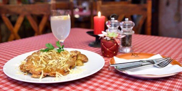 Chutný černohorský rezeň s chrumkavými zemiakmi
