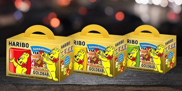 Darčekové balenie Haribo medvedíkov s hrnčekom